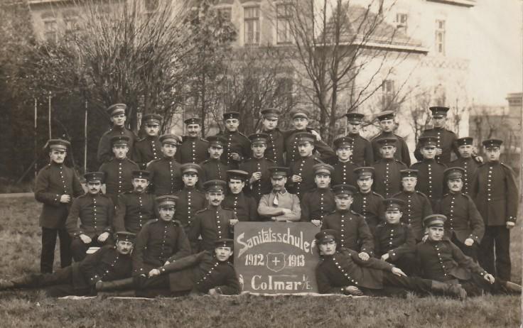 1912.12.11 A Colmar Sanitätsschule