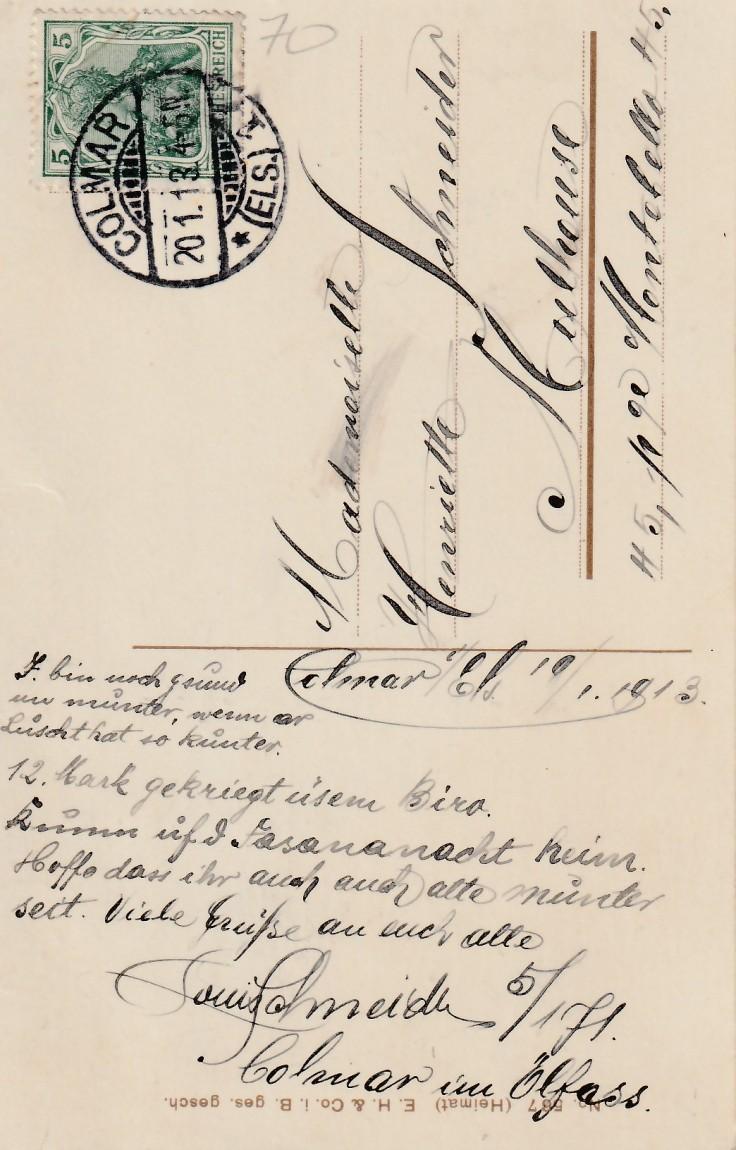1913.01.19 B Colmar