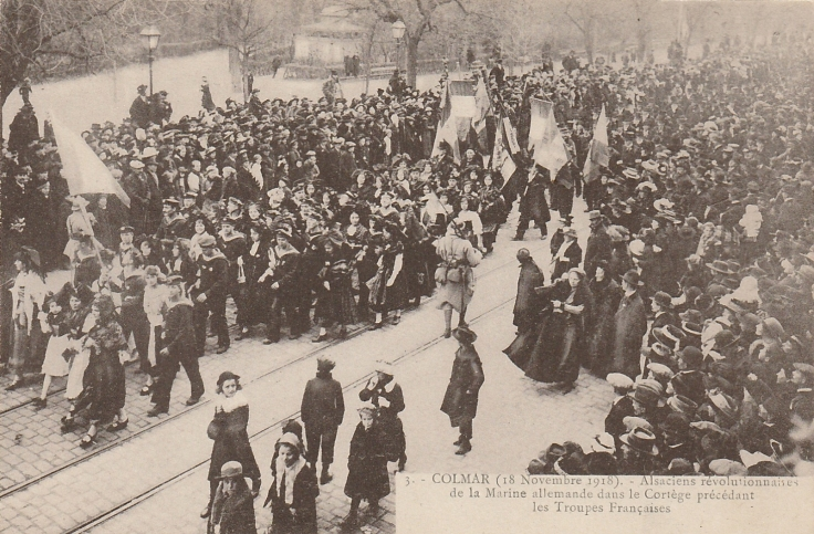 1918 DEFILE COLMAR