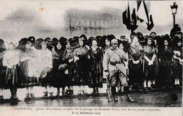 1918 VISITE PETAIN