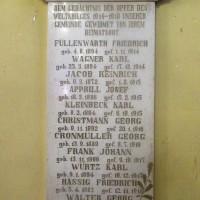 1914/18 : Feldgrauen Alsaciens-Mosellans morts pour la patrie