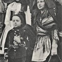 1914/18 : Manipulation des enfants