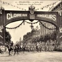 Straßburg : fêtes du 14 juillet 1919